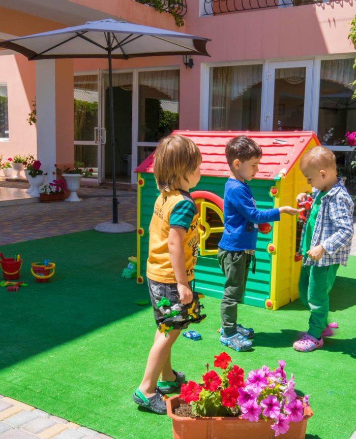 детская площадка пансионат Эльвиде Судак