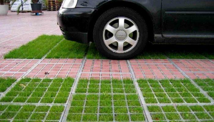 парковка для машин пансионат Эльвиде Судак
